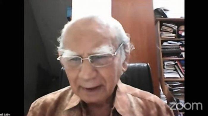 Emil Salim Sarankan Hanya Presiden, Wapres dan Sekretaris Negara Berkantor di Ibu Kota Negara Baru